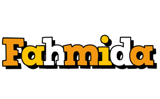 Fahmida cartoon logo