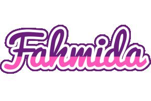 Fahmida cheerful logo