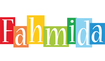Fahmida colors logo