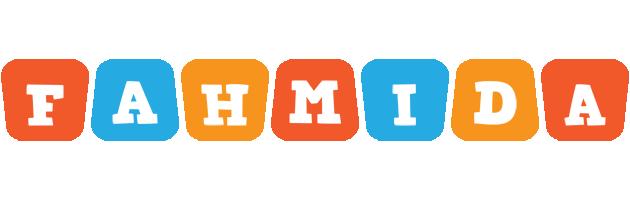 Fahmida comics logo