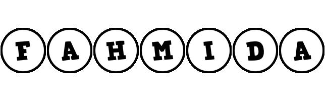 Fahmida handy logo