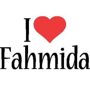 Fahmida i-love logo
