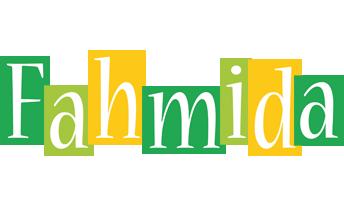 Fahmida lemonade logo