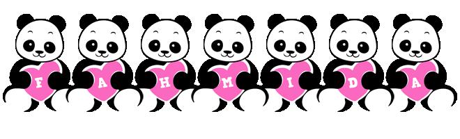 Fahmida love-panda logo