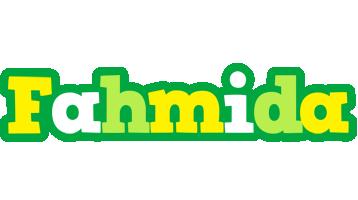 Fahmida soccer logo