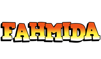 Fahmida sunset logo
