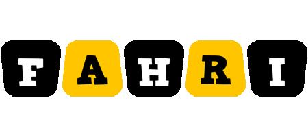 Fahri boots logo