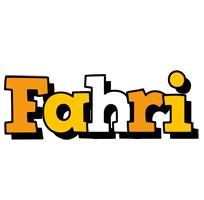 Fahri cartoon logo