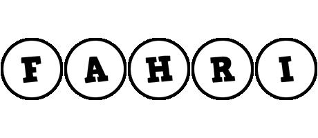 Fahri handy logo