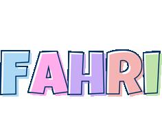 Fahri pastel logo