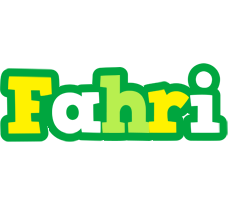 Fahri soccer logo