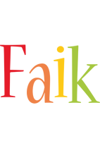Faik birthday logo