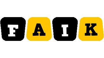 Faik boots logo