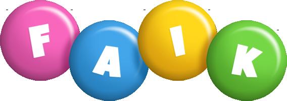 Faik candy logo