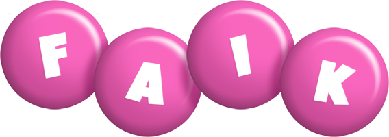 Faik candy-pink logo