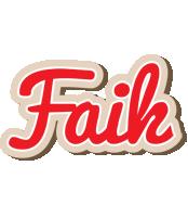 Faik chocolate logo