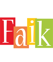 Faik colors logo