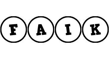 Faik handy logo