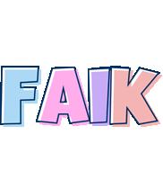 Faik pastel logo