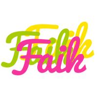 Faik sweets logo
