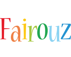 Fairouz birthday logo