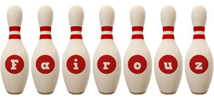 Fairouz bowling-pin logo