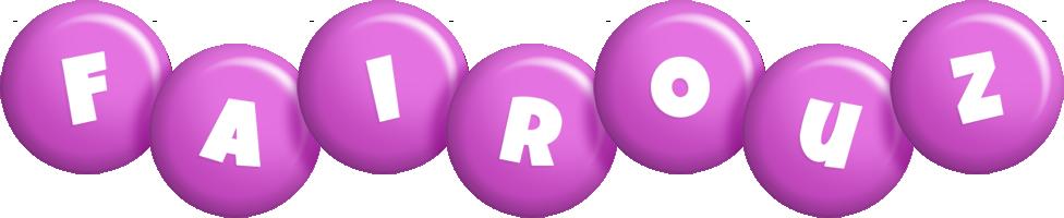 Fairouz candy-purple logo
