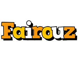 Fairouz cartoon logo