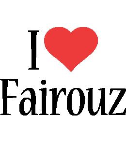 Fairouz i-love logo
