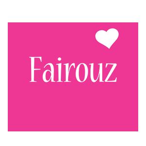 Fairouz love-heart logo