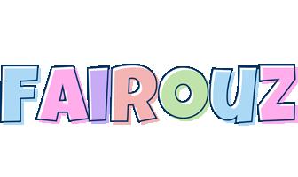 Fairouz pastel logo