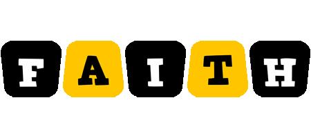 Faith boots logo