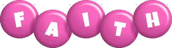 Faith candy-pink logo