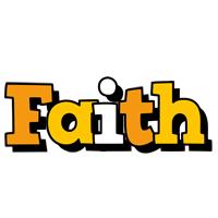 Faith cartoon logo