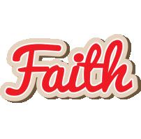 Faith chocolate logo