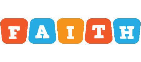 Faith comics logo