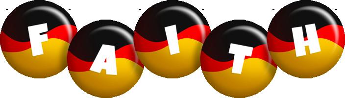 Faith german logo