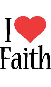 Faith i-love logo