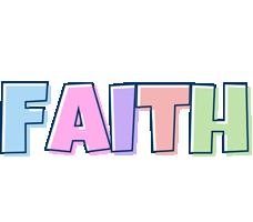 Faith pastel logo