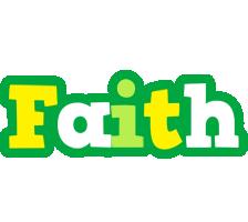 Faith soccer logo