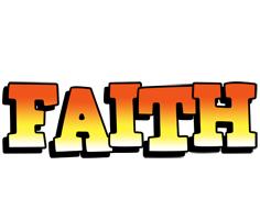 Faith sunset logo