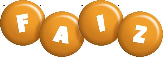 Faiz candy-orange logo