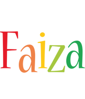 Faiza birthday logo