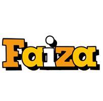Faiza cartoon logo