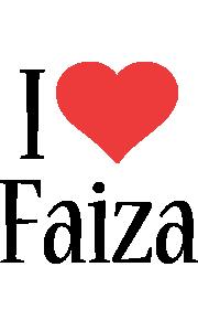 Faiza i-love logo