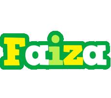 Faiza soccer logo