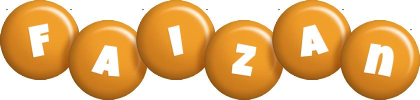 Faizan candy-orange logo