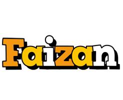 Faizan cartoon logo