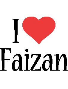Faizan i-love logo
