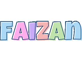 Faizan pastel logo